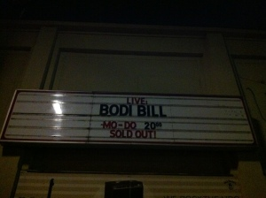 Bodi Bill live in Berlin